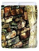 Beside The Wall Duvet Cover
