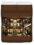 Best Western Plus Windsor Hotel Lobby - Christmas Duvet Cover