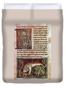 Bestiary: Lion Duvet Cover