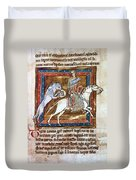Bestiary: The Tiger Duvet Cover
