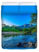 Betari River Duvet Cover