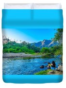 Betari River-1 Duvet Cover by Fabio Giannini