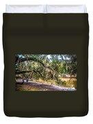 Bethany Cemetery Oaks And Tidal Creek Duvet Cover