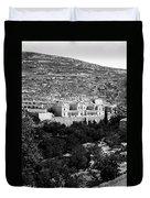 Bethlehem - Artas Convent Year 1900 To 1925 Duvet Cover