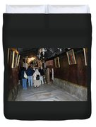 Bethlehem - Grotto Of Nativity 2009 Duvet Cover