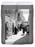 Bethlehem - Hard Working Woman Duvet Cover