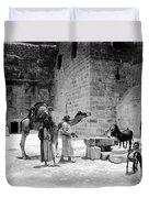 Bethlehem - Nativity Church 1920s Duvet Cover