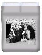 Bethlehem Family In 1900s Duvet Cover