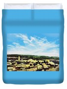 Bethlehem New Day Duvet Cover
