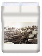 Bethlehem Old Main Street Duvet Cover