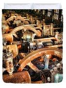 Bethlehem Steel Blower House Duvet Cover