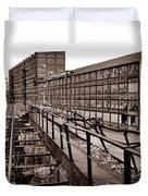Bethlehem Steel Number Two Machine Shop Duvet Cover