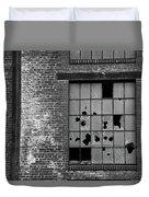 Bethlehem Steel Window Duvet Cover