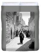 Bethlehemite Going To The Market Duvet Cover