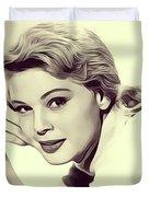 Betsy Palmer, Vintage Actress Duvet Cover