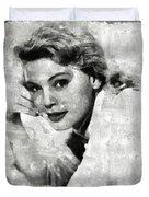 Betsy Palmer Vintage Hollywood Actress Duvet Cover