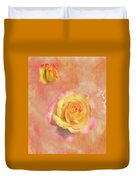 Betsy's Roses Duvet Cover