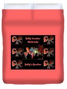 Betty Crocker's Abstracts - Betty's Bowties Duvet Cover