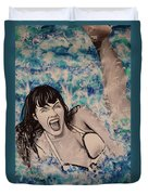 Betty Page Duvet Cover