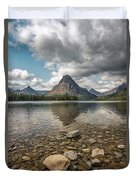 Between A Rock And A Beautiful Place Duvet Cover
