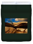 Between A Rock And A Hard Place Duvet Cover