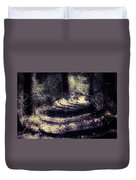 Between The Pines Duvet Cover