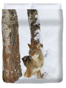 Between The Trees Duvet Cover