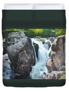 Betws-y-coed Waterfall In North Wales Duvet Cover