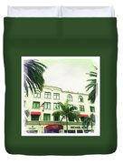 Beverly Hills Rodeo Drive 5 Duvet Cover