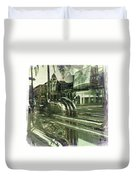 Beverly Hills Rodeo Drive 8 Duvet Cover