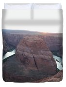 Bend At The River Duvet Cover