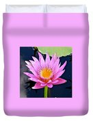 Beyond Beautiful Water Lily 2 Duvet Cover