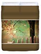 Beyond Fenceposts Duvet Cover