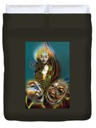 Beyond Masks Duvet Cover