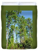 Slash Pines Duvet Cover