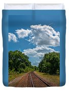 Beyond The Bend Duvet Cover