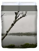 Beyond The Birches Duvet Cover