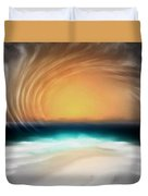 Beyond The Blue Horizon - Series 20 Duvet Cover
