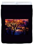 Beyond The Cottonwoods Duvet Cover