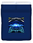 Beyond The Dark Clouds And Storms Duvet Cover