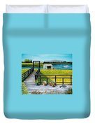 Beyond The Levee Duvet Cover