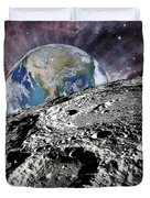 Beyond The Moon Duvet Cover