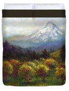 Beyond The Orchards Duvet Cover