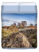 Beyond The Rocks Duvet Cover