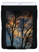 Beyond The Trees Duvet Cover