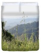 Beyond The Grass Duvet Cover