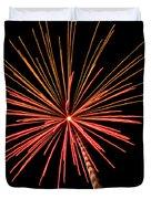 Bi-color Fireworks 2 Duvet Cover
