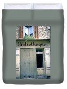 Bibliotheque Duvet Cover
