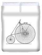 Bicycle 1885 Duvet Cover