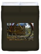 Bicycle At Micanopy Duvet Cover